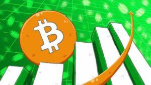 Стоимость биткоина растет на фоне роста объема торгов