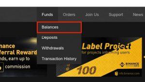 Конвертация криптовалютной пыли на Binance